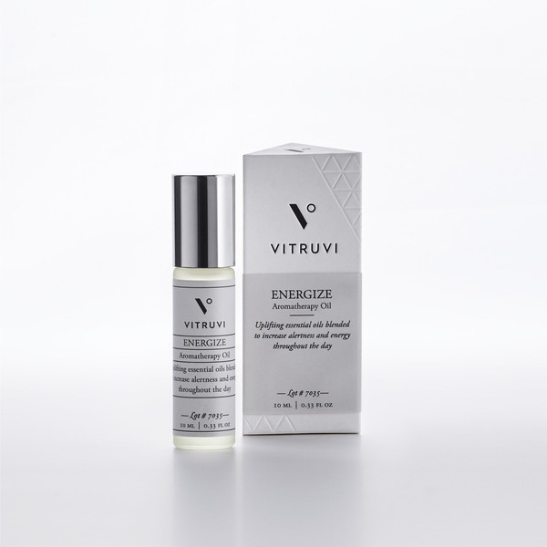 VITRUVI | ENERGIZE • AROMATHERAPY OIL - REMEDY COLLECTION